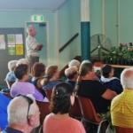 Ian Wintle presenting on 'Bizarre and Beautiful Botanicals'