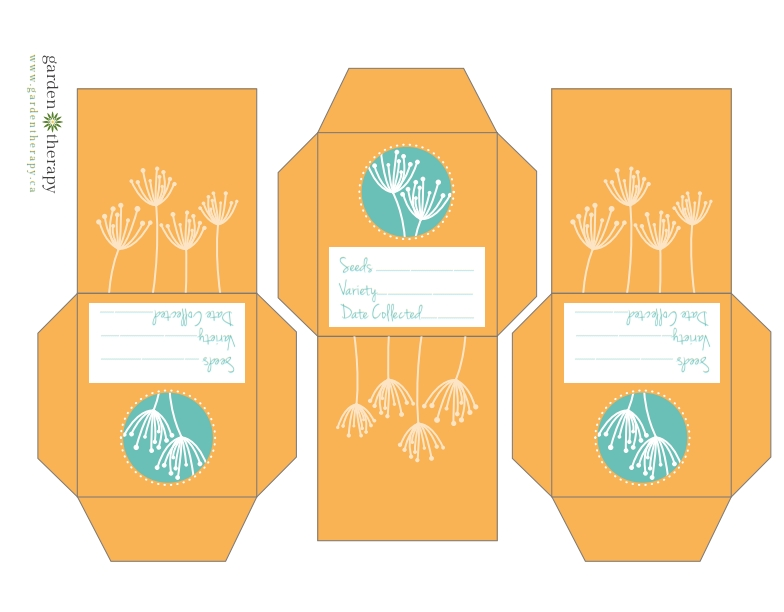 Free-Printable-Flower-Seed-Collection-Packets