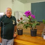 David (sporting our new club shirt!) with the stunning plants he spoke about during our 'Show and Tell' segment.